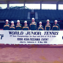 World Youth Cup with Samantha Stosur